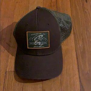 Eddie Bauer brown outdoor hat